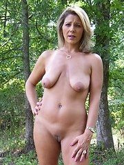 Wet Mature Woman